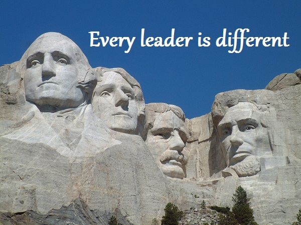 Every leader is different