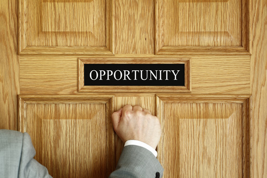 Opportunities Are Knocking at Your Door