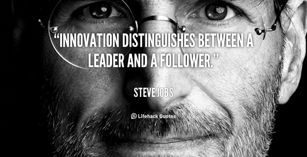 Innovative leadership quotations