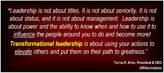 Transformational leadership quotes