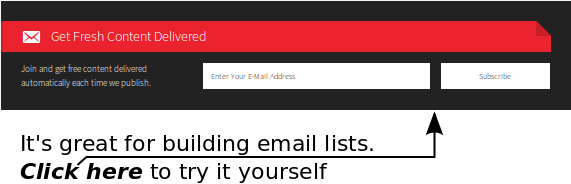 Email Sign-Up Boxes