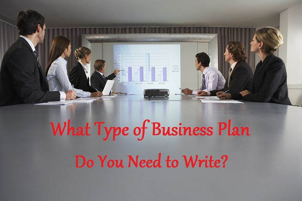 What Type of Business Plan Do You Need to Write?